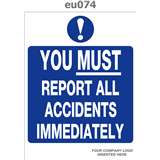 eu074 you must report all accidents