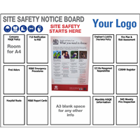 Site Safety Notice Board 1500