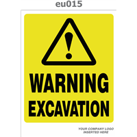 warning excavations