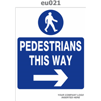 pedestrian to the right