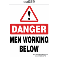 men working below
