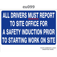 all drivers must report for safety induction