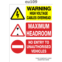 high voltage headroom no entry