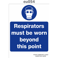 respirators must be worn