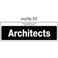 architects door plate
