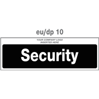 security door plate
