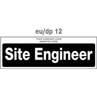 site engineer door plate