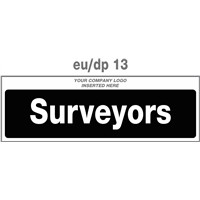 surveyors door plate