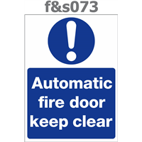 automatic fire door