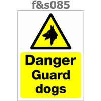 danger guard dogs