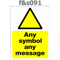 any symbol any message