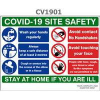 Covid -19 Site Safety Sign