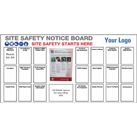 Site Safety Notice Board 2440