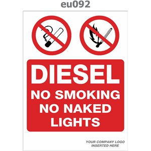 diesel no smoking